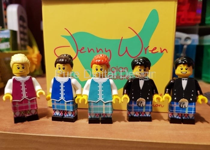 Creating clothes for Lego Minifigures (2017/18)