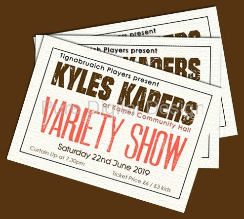 Variety Show Tickets (June 2019)